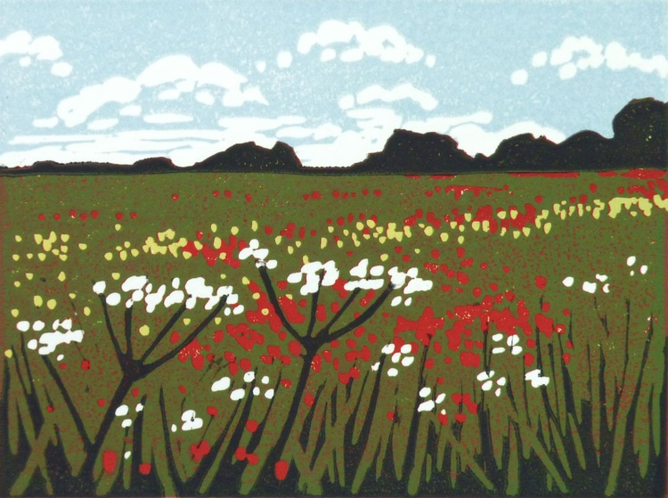 Mini Poppies and Parsley - Image 0
