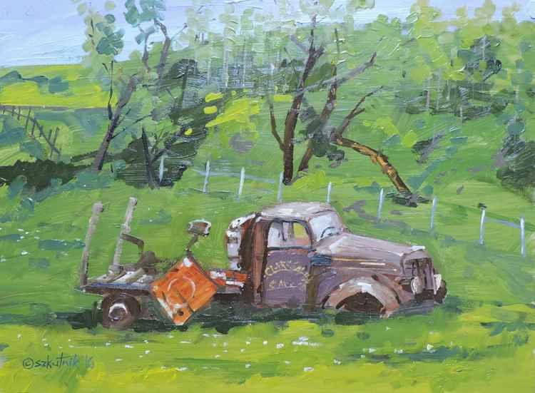 Clark Sawmill Truck -