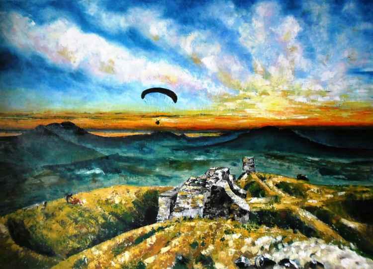 Paragliding -