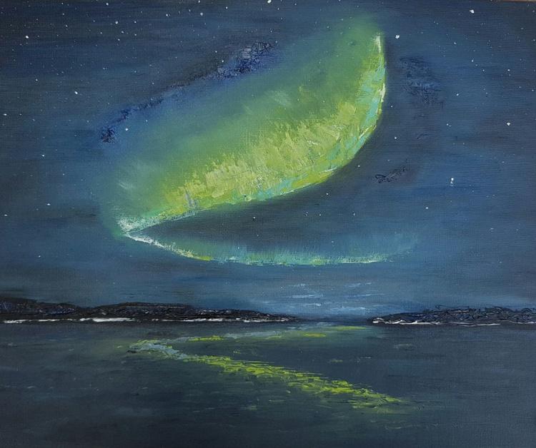 Aurora Crashing Waves - Image 0