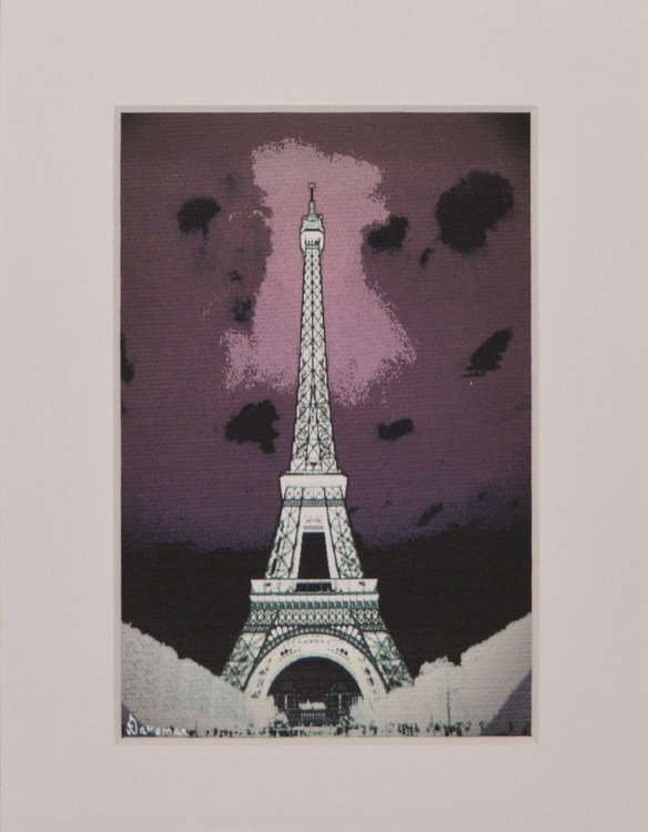 Eiffel Purple Black - Image 0