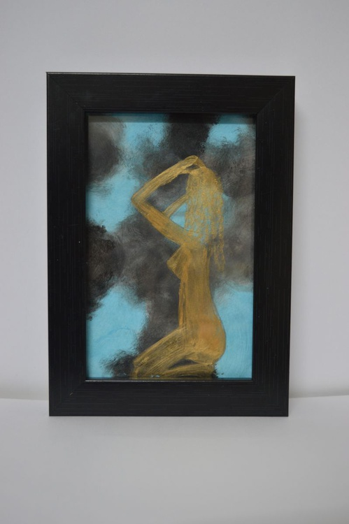 Nude(12.5*18cms,Framed,Ready to hang) - Image 0