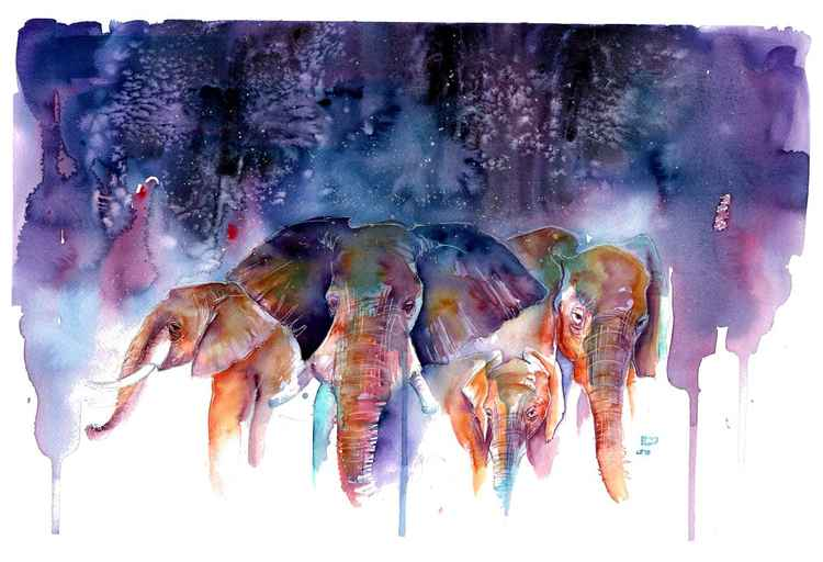 Celestial Elephants -