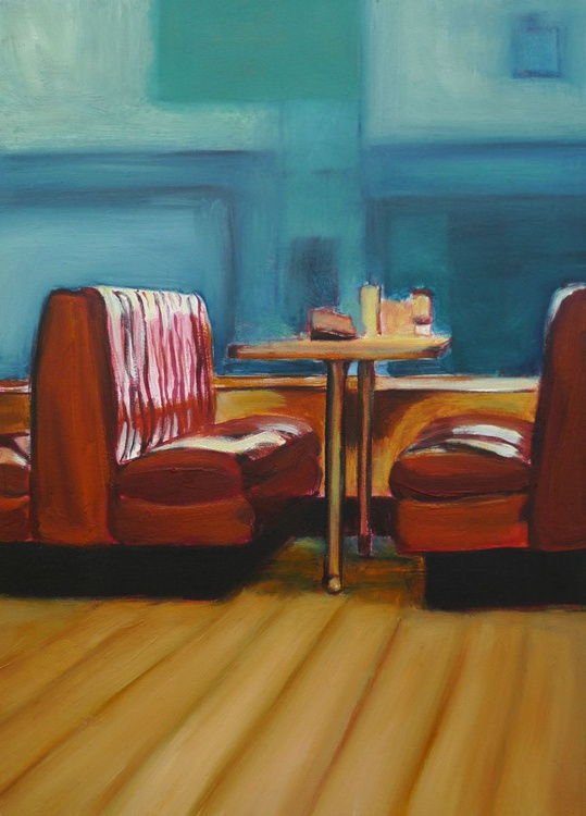 Red Banquette - Image 0
