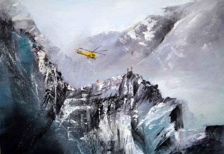 Rescue - Original Watercolour Painting