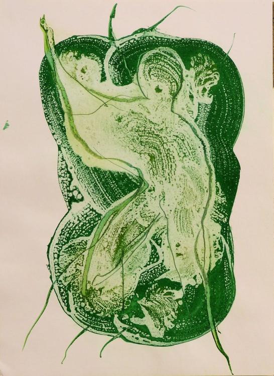 Ink on Paper #21, 29x42 cm - Image 0
