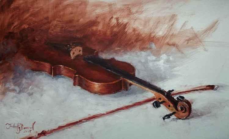 Violin Study -