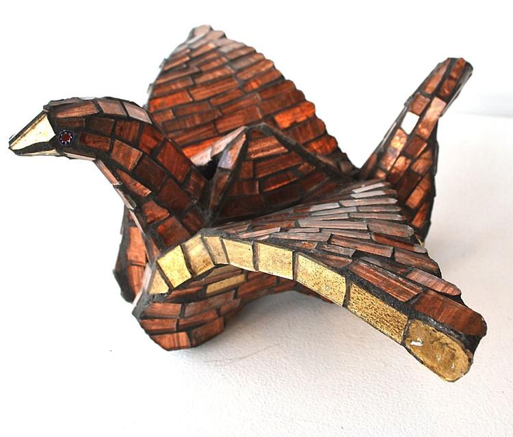Small Copper Crane - Image 0