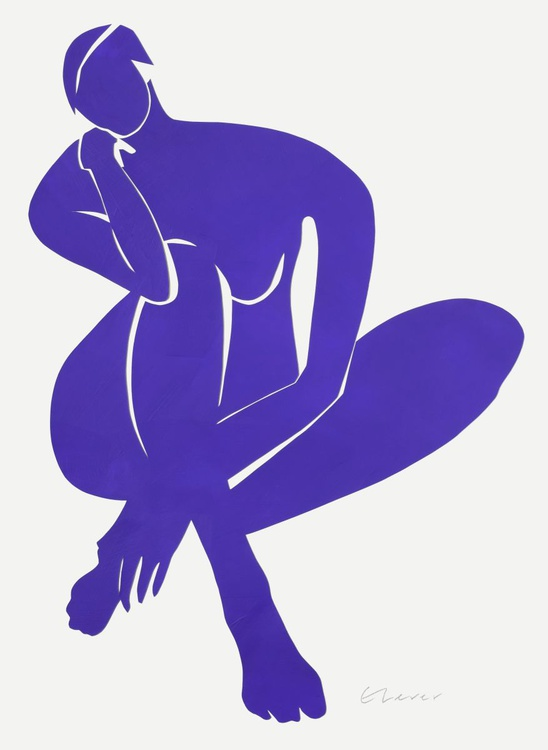 Erica in Blue - Image 0