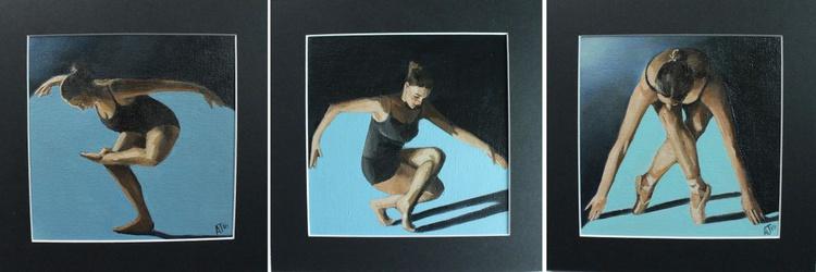 Ballet Class Triptych - Image 0