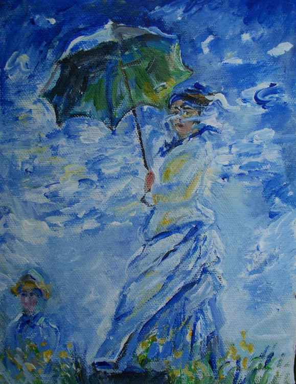Woman with Parasol -