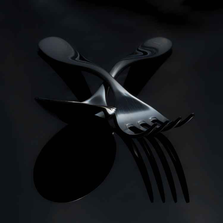 Fork and Spoon still life -