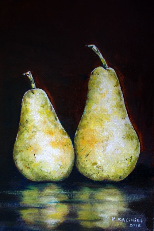 """ A pair of Pears III"" - Image 0"
