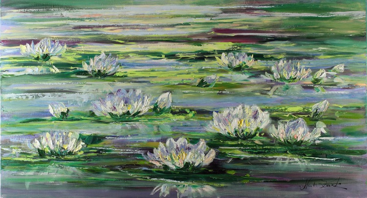 Flowers on the water - Image 0