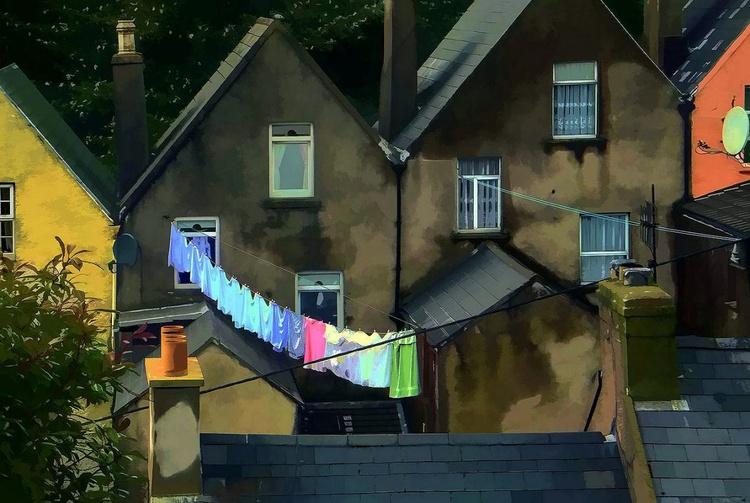 Laundry Day In Cork Ireland - Image 0