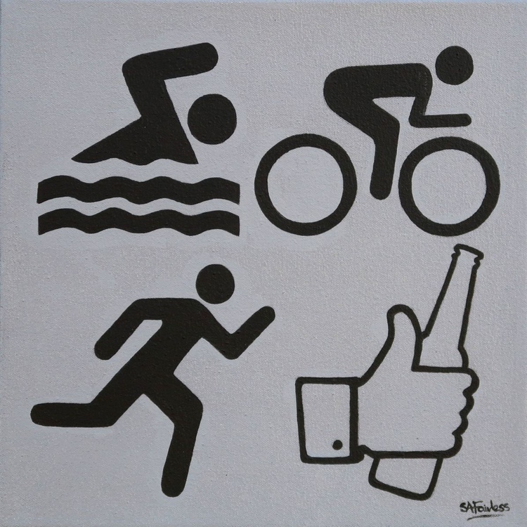 Swim Bike Run Beer - Image 0