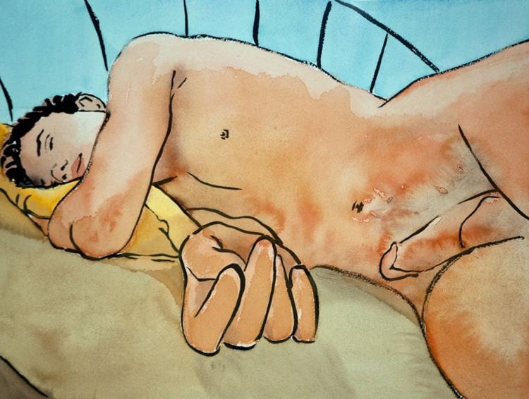 Sleeping Man - Image 0