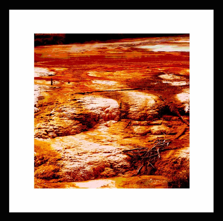 Natural Abstracts - Geothermal Terrain number 2 - Image 0