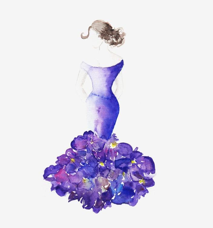 lady violet - Image 0