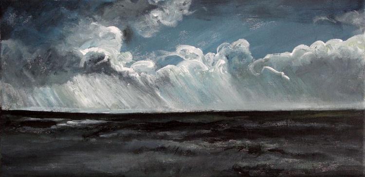 Dark Waves. Atlantic Ocean, Ericeira, Portugal. - Image 0