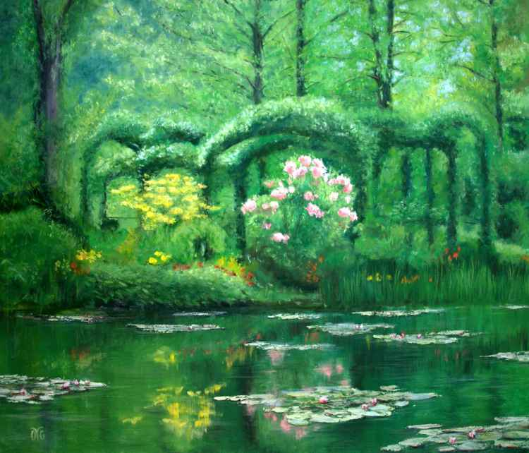 Spring in Givergny -