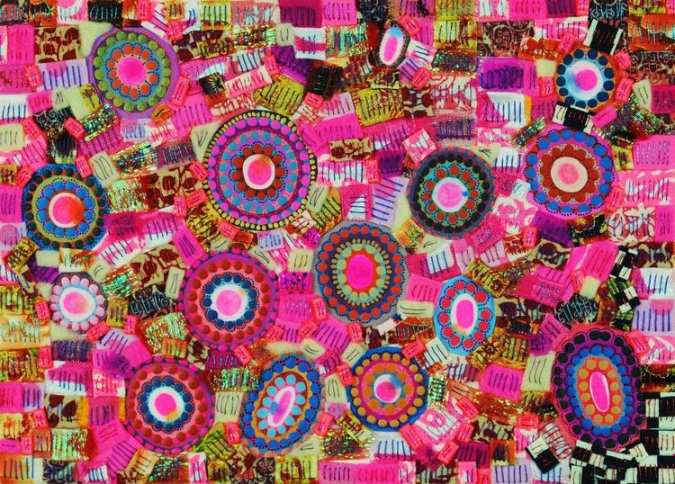 Pink, Punk (colourful & feminine artwork) - Image 0