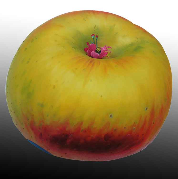 apple planet---beautiful girl