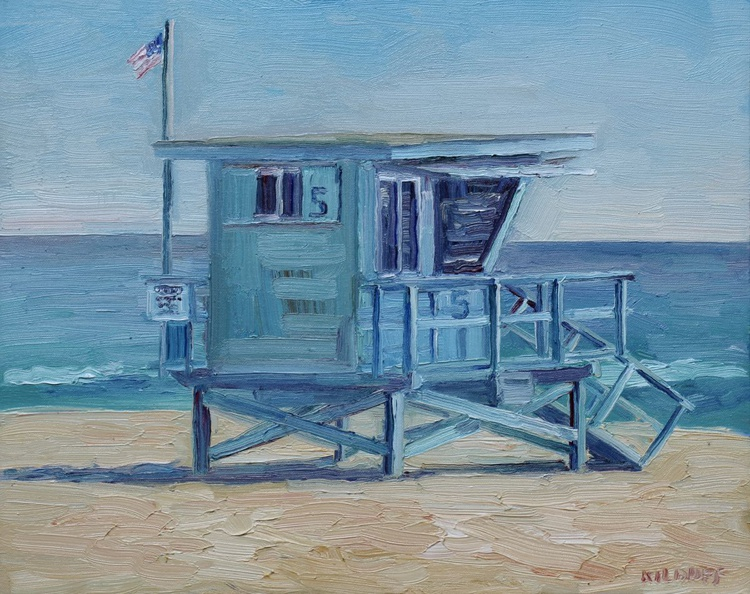 Lifeguard Tower #5- Zuma Beach - Image 0