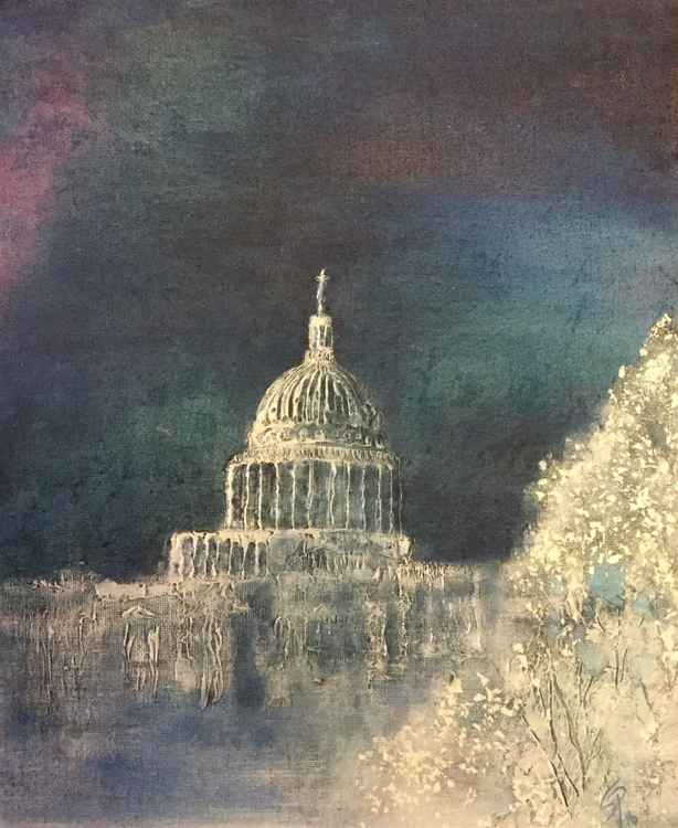 St Pauls in the Snow -