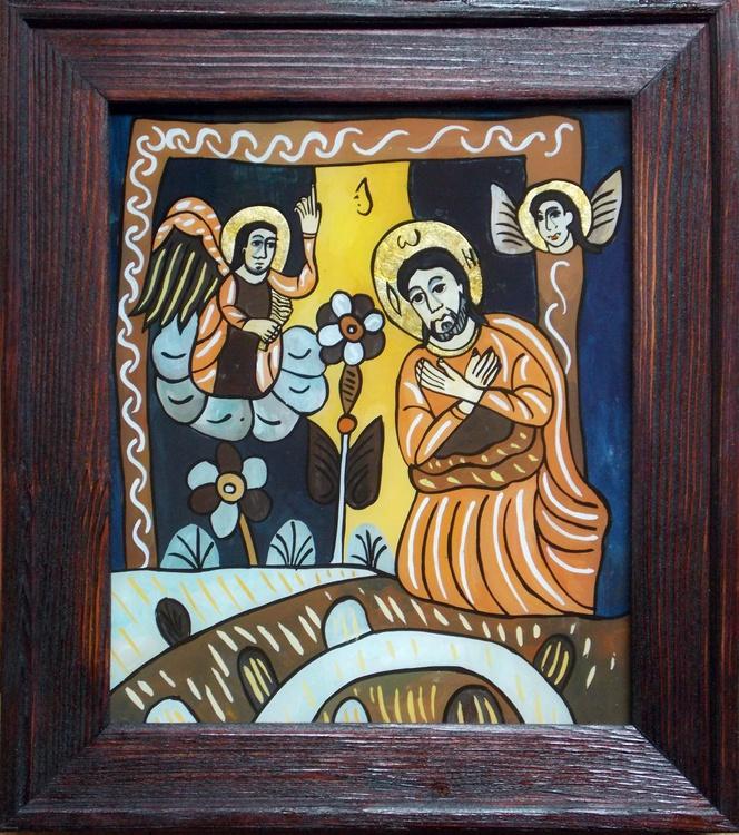 Jesus praying in the Garden of Gethsemane - Image 0