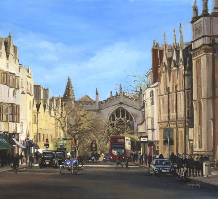 A view to Magdalen, Oxford - Image 0