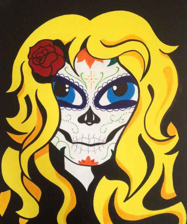 Original Day of the Dead Babe