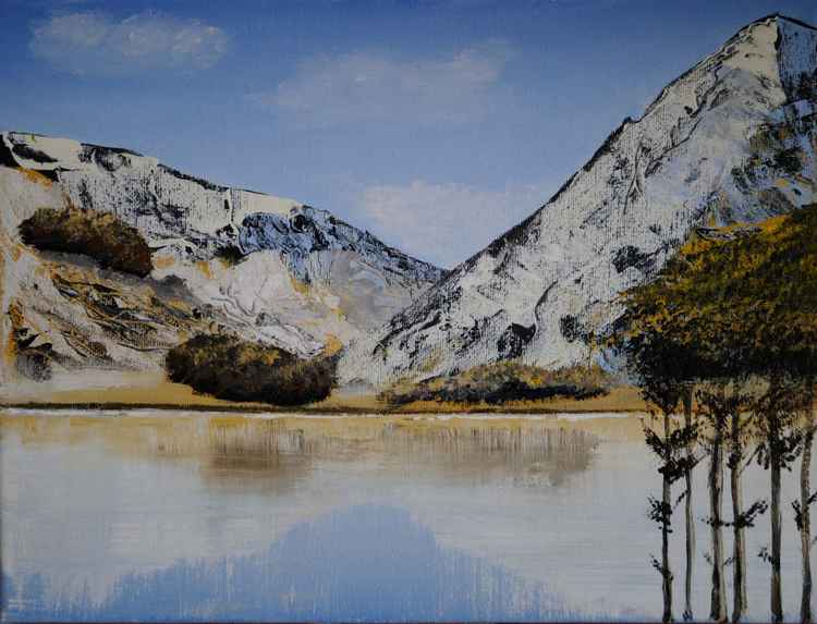 Buttermere in the Snow -