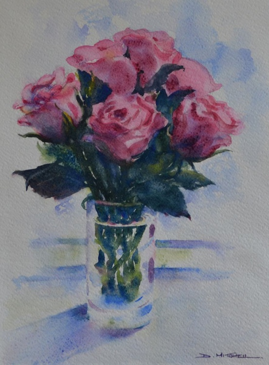 Roses On The Windowsill - Image 0
