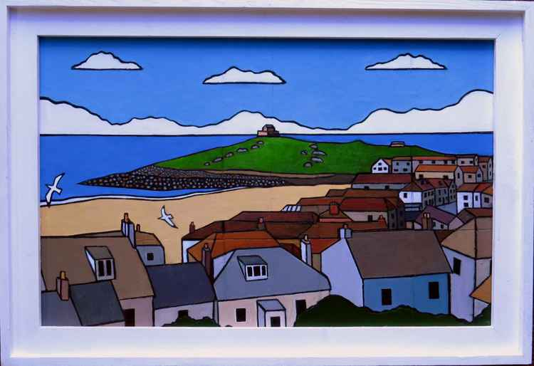 View to The Island, St Ives -