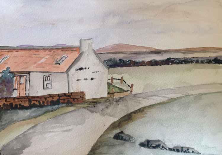 Roadside cottage, Sutherland -