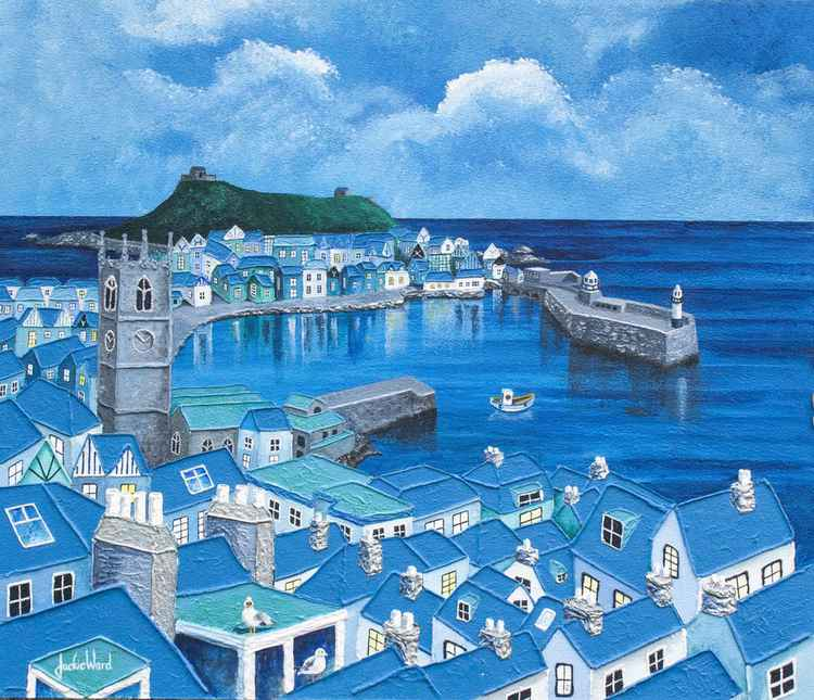 Cornish Blue -