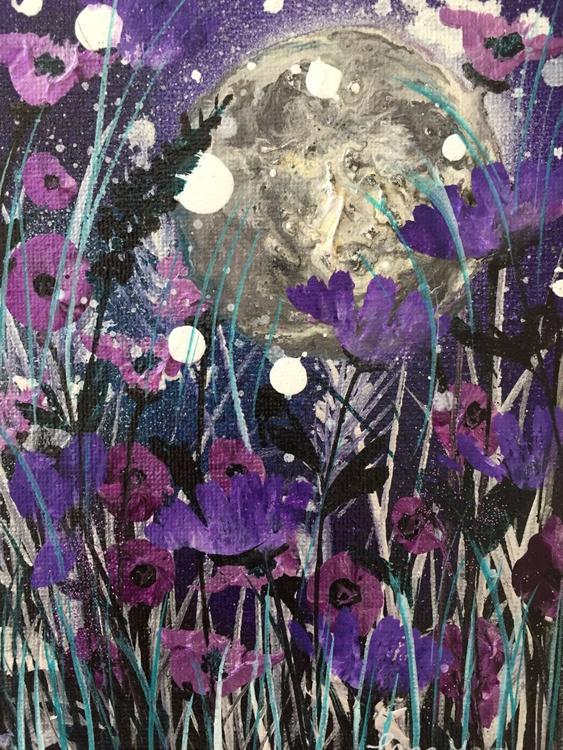 Purple moon mini - Image 0