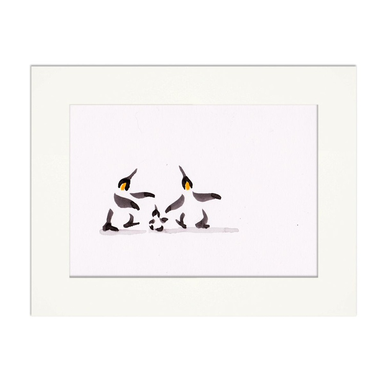 Two penguins and a chick 10 - Image 0