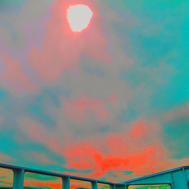 Shooting Against Sun - Monoprint - Image 0