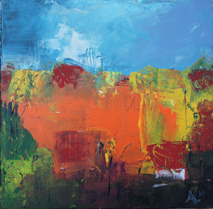 Abstract Landscape in Autumn - Image 0