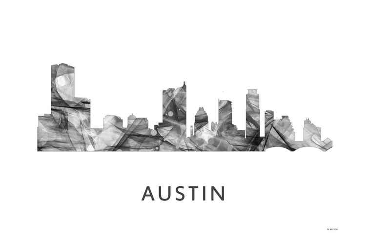 Austin Skyline WB BW -