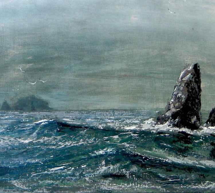 Stac Mina, St Kilda -