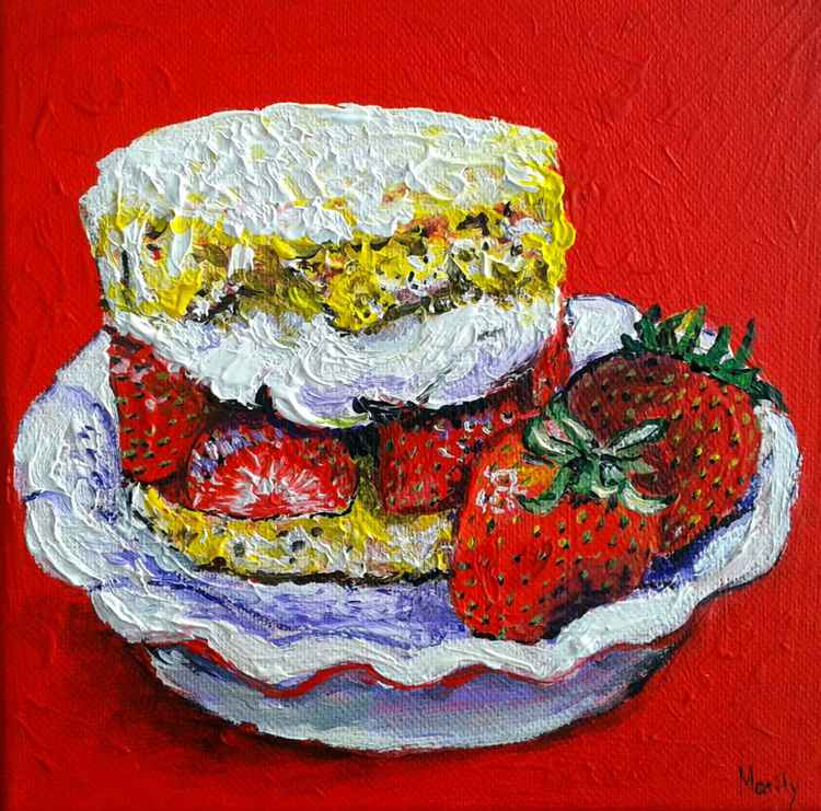 """Strawberry shortcake"" -"