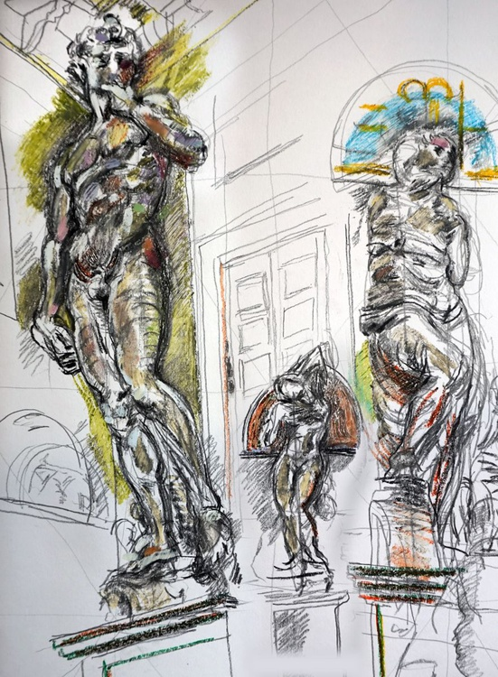 Statues by Michelangelo - Image 0