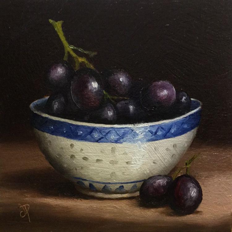 Bowl of Grapes - Image 0