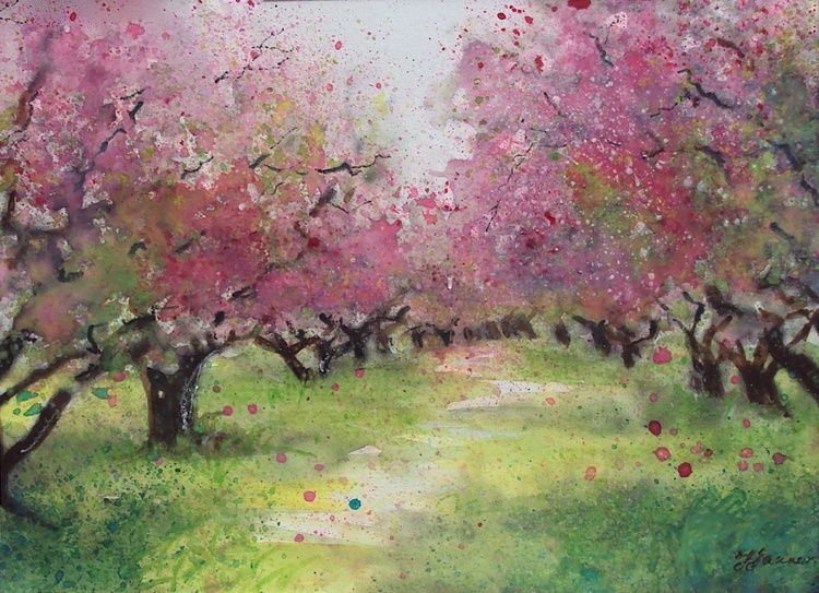 Pink Orchard - Image 0