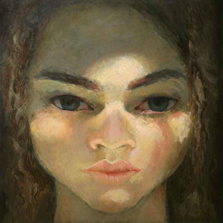 Head of a woman 4 -