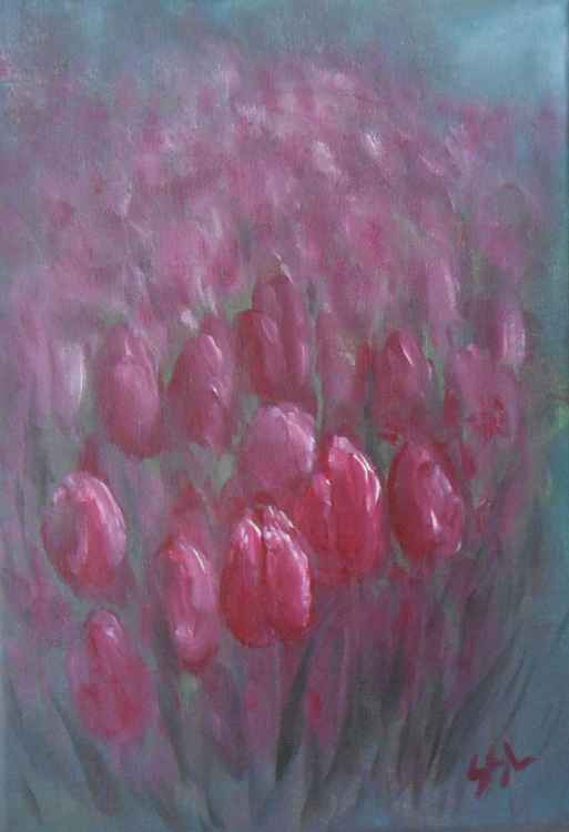 Red Tulips -