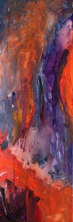 Flow of Colors #15047 (40x120cm) - Image 0